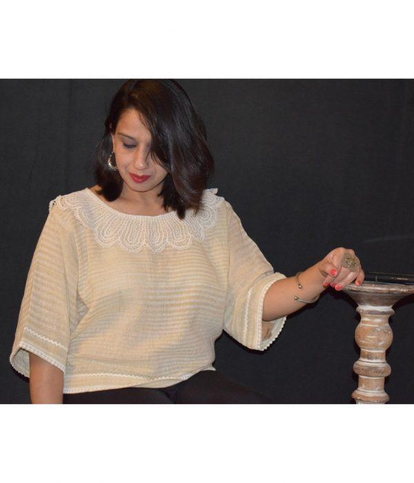 Crochet Top Lacy Jewel