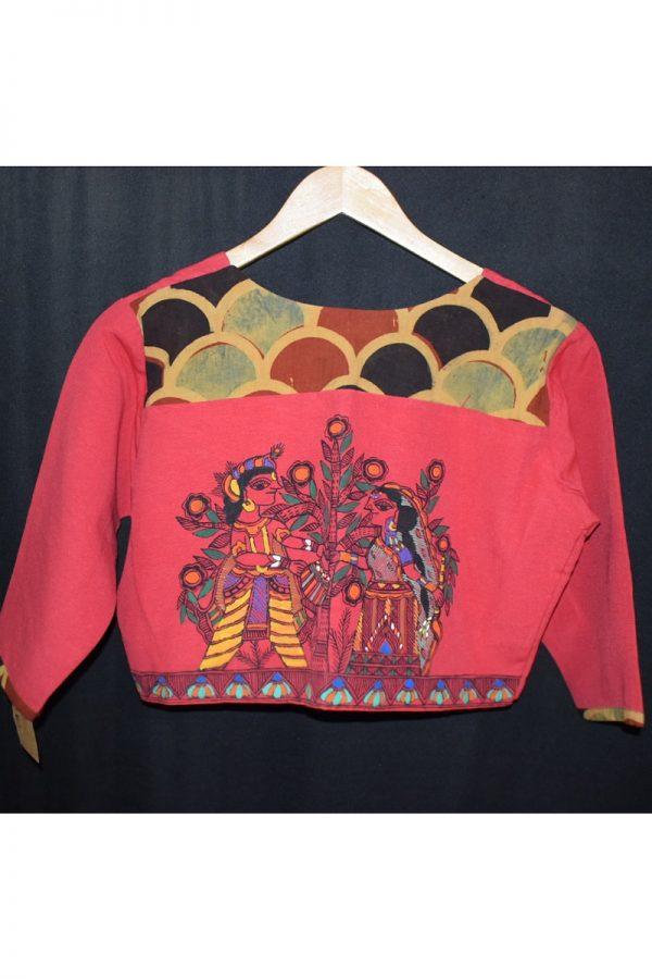 Red Madhubani
