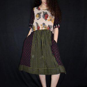 Mukham Kalamkari Dress