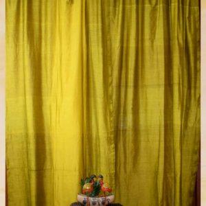 Mustard Saree Curtain