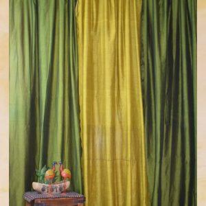 Olive Saree Curtain